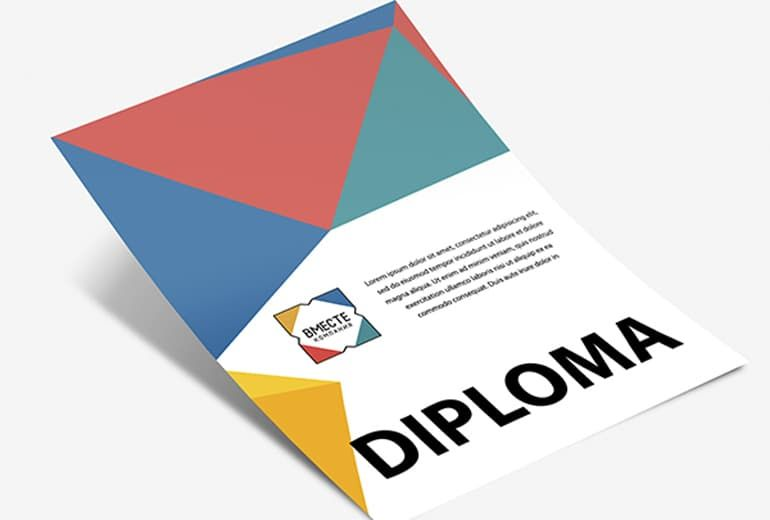 Дизайн дипломов и грамот