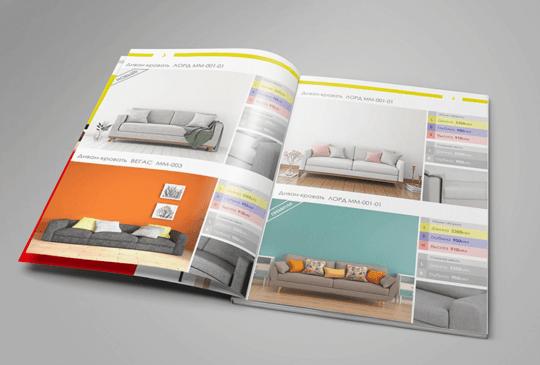 Дизайн каталога мебели