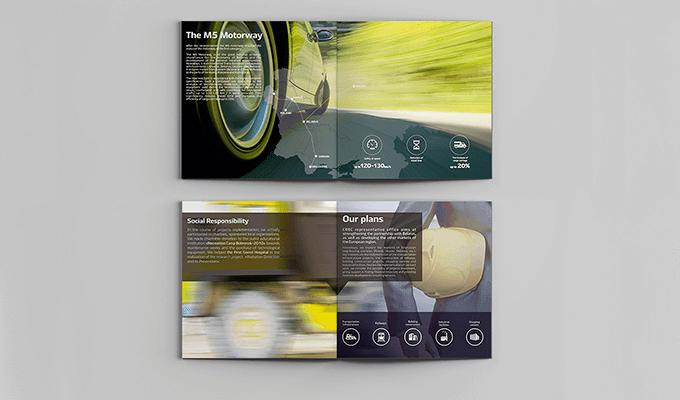 Дизайн-разработка и верстка каталога для CRBC