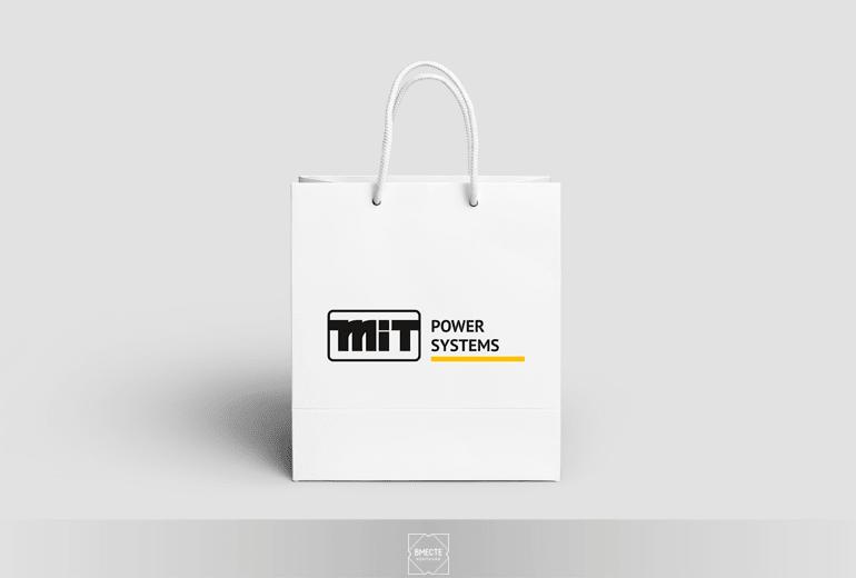 Дизайн бумажных пакетов, нанесение логотипа