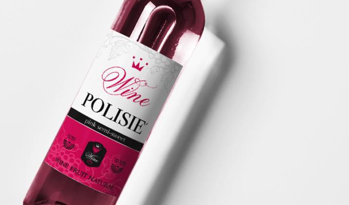 Дизайн этикетки для Гомельского винодельческого завода