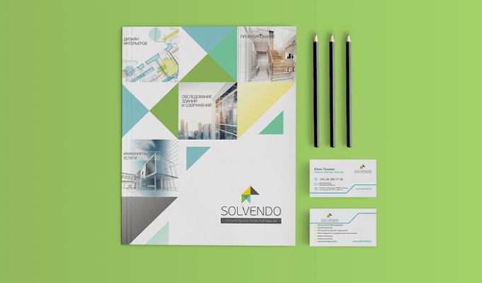 Фирменный стиль для Solvendo