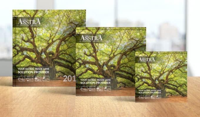 Комплексный дизайн для компания АССТРА