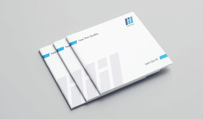 Дизайн и верстка брошюры