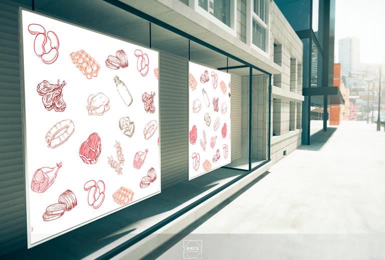 Разработка дизайна витрин